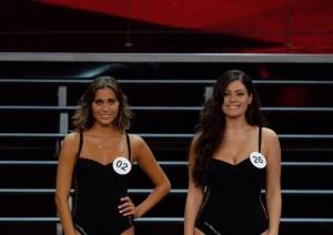 Rachele Risaliti e Paola Torrente (foto Ansa)