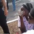 San Diego, polizia uccide nero malato di mente4