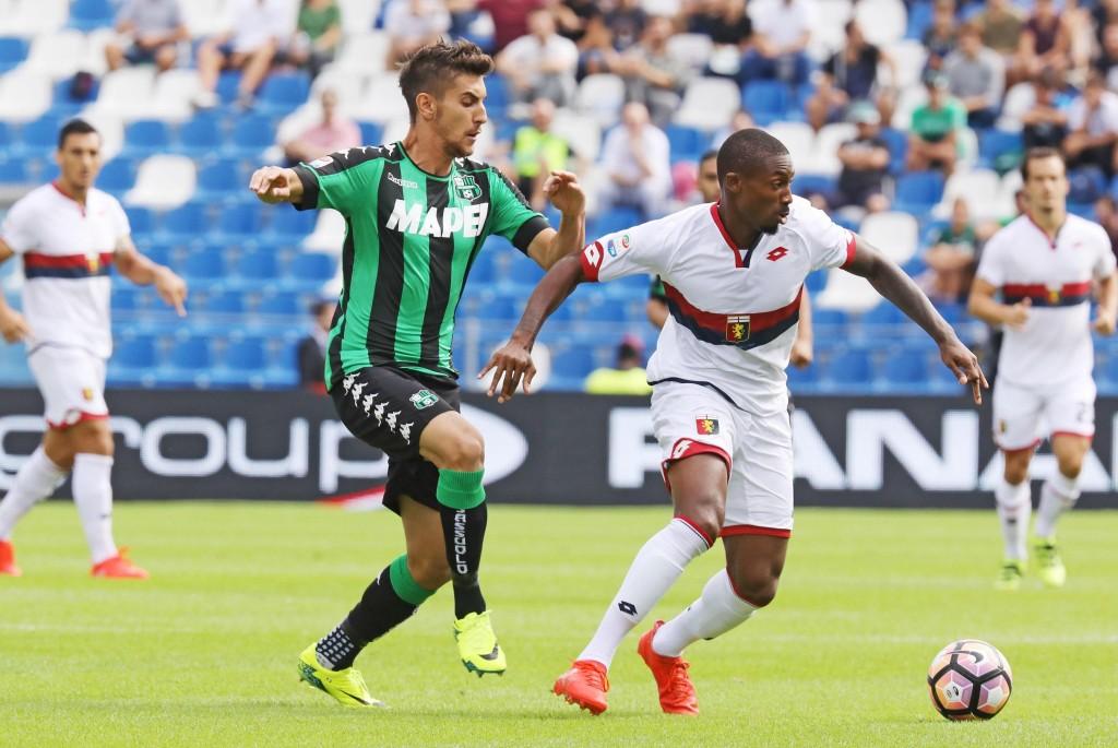 Soccer: serie A, US Sassuolo vs Genoa Cfc