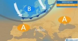 Previsioni meteo: week end d'estate, ma da domenica temporali