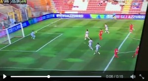 Under 21, Italia-Serbia: video gol highlights, Cerri su rigore