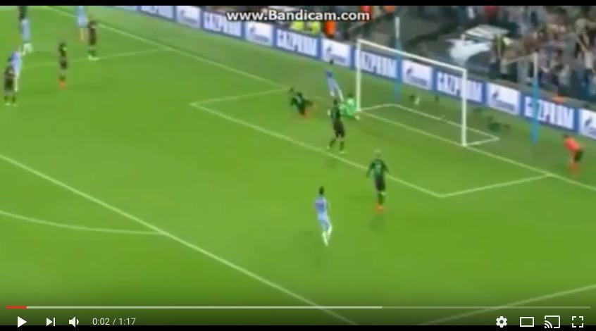 Manchester City-Borussia Moenchengladbach 4-0, video gol highlights: Aguero tripletta