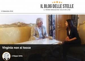 """M5s, Beppe Grillo zittisce Roberta Lombardi: """"Virginia Raggi non si tocca"""""""