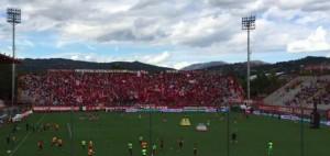 Perugia-Ternana: morto tifoso, giocatori chiudono gara con 'torello'