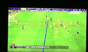 Guarda la versione ingrandita di Fiorentina-Roma, VIDEO: Badelj gol irregolare: Kalinic in fuorigioco