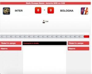 Inter-Bologna, diretta live. Formazioni ufficiali - video gol highlights