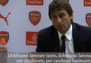Guarda la versione ingrandita di YOUTUBE Antonio Conte, inglese improbabile dopo Arsenal-Chelsea