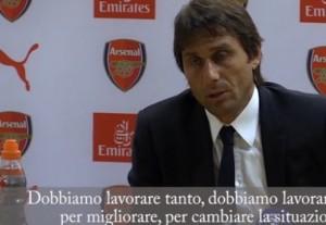 YOUTUBE Antonio Conte, inglese improbabile dopo Arsenal-Chelsea