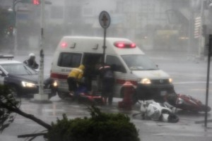 Super tifone Meranti colpisce Taiwan88