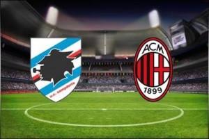 Sampdoria-Milan streaming e diretta tv, dove vederla
