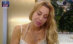 Valeria Marini, senza trucco