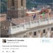 Virginia Raggi sul tetto del Campidoglio: FOTO su Twitter5