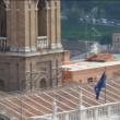 Virginia Raggi sul tetto del Campidoglio: FOTO su Twitter2