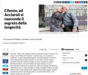 Acciaroli e Pollica, quel sangue che non fa morire: elisir di lunga vita in Cilento