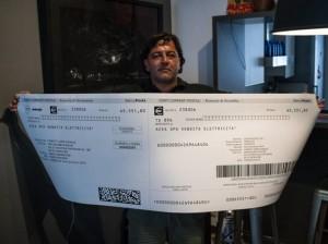 Guarda la versione ingrandita di Roma, bolletta elettrica da 65mila euro. Acea: