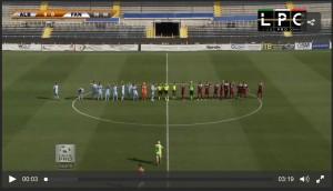 Guarda la versione ingrandita di AlbinoLeffe-Fano 1-1: highlights Sportube su Blitz