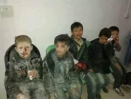 Bambini ad Aleppo