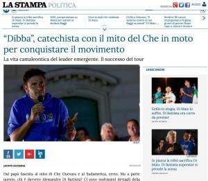 Alessandro Di Battista, leader camaleonte: il padre fascista, Che Guevara, la parrocchia, Casaleggio