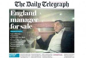 Sam Allardyce, Ct corrotto, cacciato. Ma la Premier non sta meglio