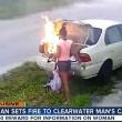 VIDEO YOUTUBE Dà fuoco all'auto dell'ex fidanzato ma...non era la sua