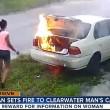 VIDEO YOUTUBE Dà fuoco all'auto dell'ex fidanzato ma...non era la sua 2