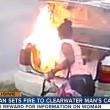 VIDEO YOUTUBE Dà fuoco all'auto dell'ex fidanzato ma...non era la sua 3