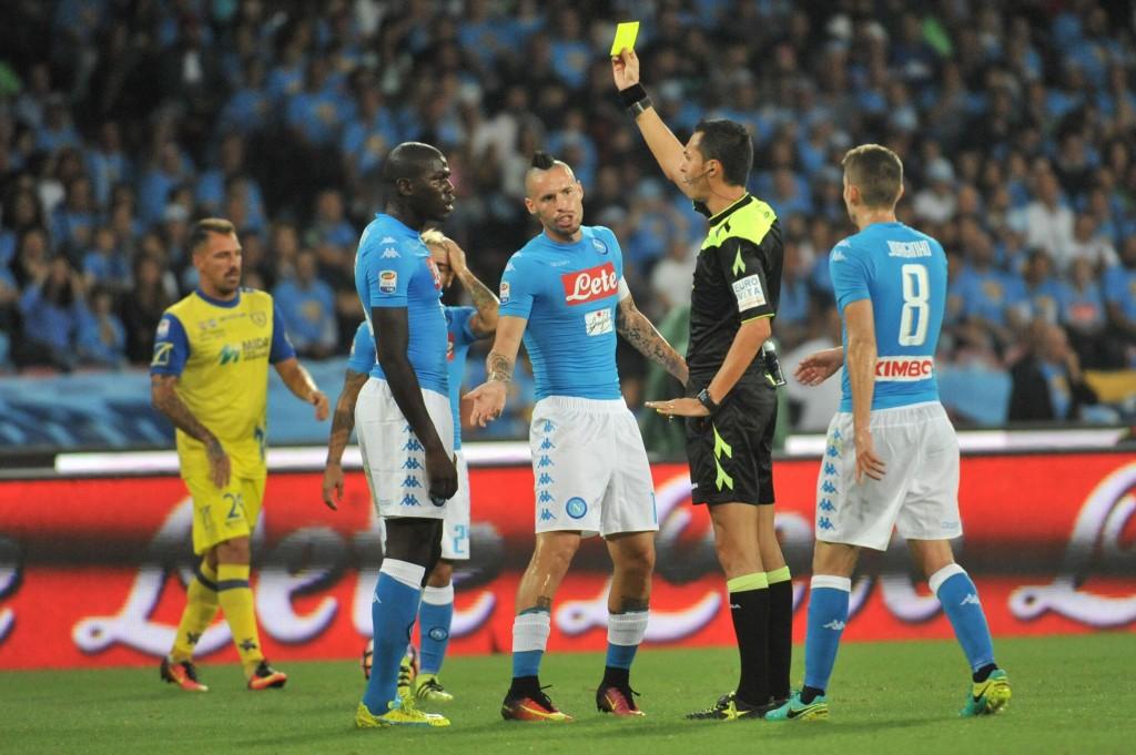 Soccer: Serie A; Napoli-Chievo