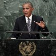 """Barack Obama all'Onu attacca Putin: """"Russia cerca vecchia gloria"""""""