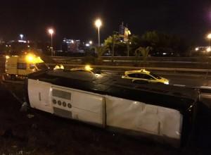 Barcellona, incidente bus pieno di turisti: 24 feriti, tre gravi