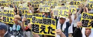 Protesta contro la base Usa