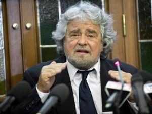 Guarda la versione ingrandita di Beppe Grillo (foto Ansa)