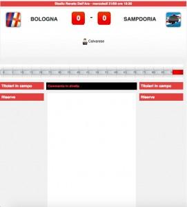 Bologna-Sampdoria
