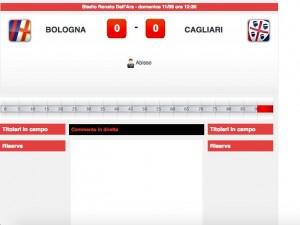 Bologna-Cagliari: diretta live su Blitz. Formazioni ufficiali dopo le 12