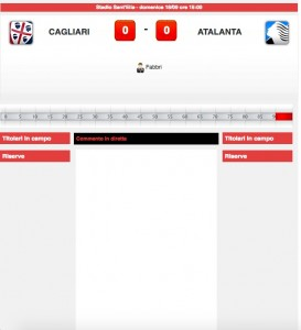 Cagliari-Atalanta diretta live su Blitz. Formazioni ufficiali-video gol highlights
