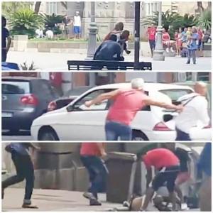 Cagliari, rissa in centro tra rumeni e migranti