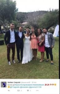 Guarda la versione ingrandita di Tania Cagnotto e Stefano Parolin sposi FOTO. Matrimonio blindato all'Elba