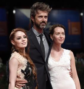 Camilla Diana, Kim Rossi Stuart e Cristiana Capotondi alla prima di 'Tommaso' a Venezia ANSA/CLAUDIO ONORATI