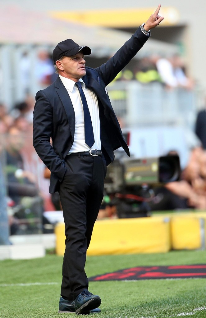 Soccer: Serie A; Milan-Udinese