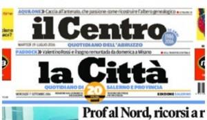 Fnsi solidale con Il Centro, la Città di Salerno e il Gazzettino