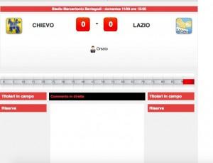 Chievo-Lazio: diretta live su Blitz. Formazioni ufficiali dopo le 14