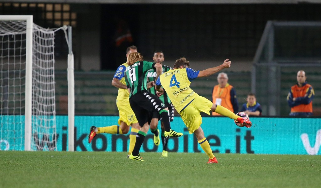 Soccer: Serie A; Chievo-Sassuolo