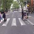 """YOUTUBE Pedone contro ciclista, quasi rissa: """"Ti devi fermare, è la legge!""""02"""
