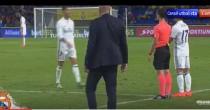 YOUTUBE Cristiano Ronaldo sostituito in Las Palmas-Real Madrid non la prende bene