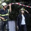 Roma: crolla palazzina a Ponte Milvio: appena sgomberata dopo sopralluogo2