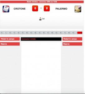 Crotone-Palermo diretta live su Blitz. Formazioni ufficiali-video gol highlights