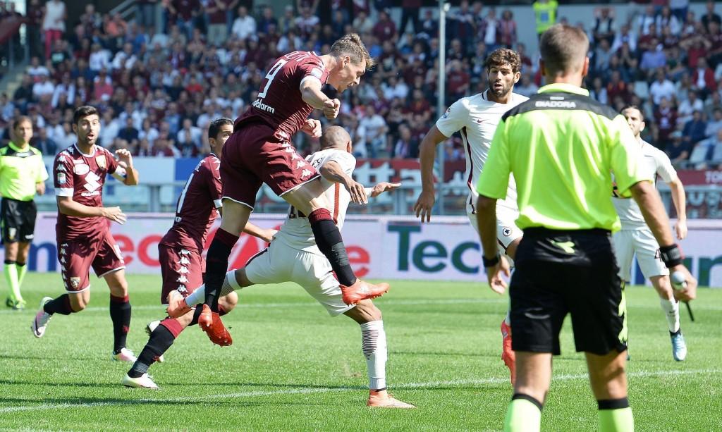 Soccer: Serie A; Torino-Roma