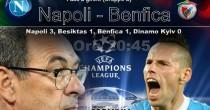 Napoli-Benfica streaming e tv, come vedere la partita in diretta