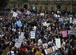 La dimostrazione pro Ue a Londra