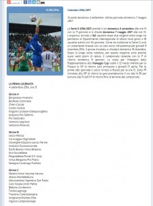 Serie D, Dilettanti 2016-17: GIRONE C, calendario e squadre
