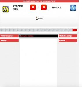 Dinamo Kiev-Napoli: diretta live su Blitz. Formazioni ufficiali - video gol highlights